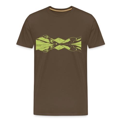 Wasdale view - Men's Premium T-Shirt