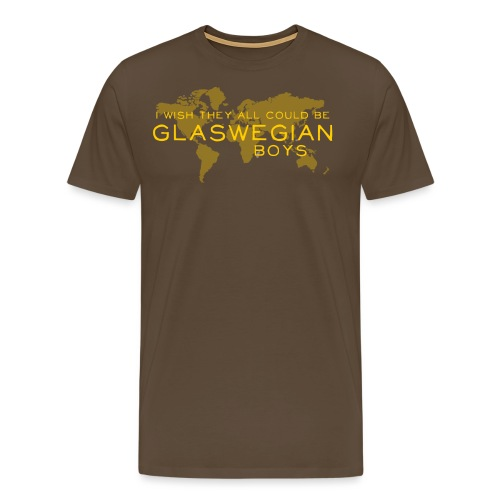 Glaswegian Boys - Men's Premium T-Shirt