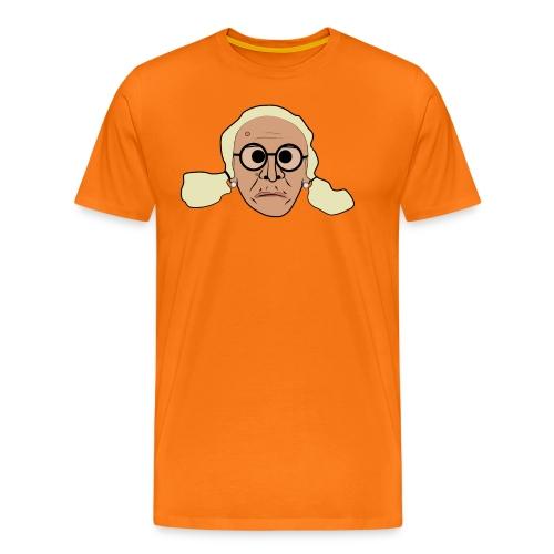 Kerstin sur png - Premium-T-shirt herr