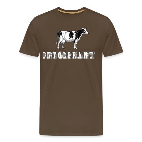 Intolerant - Premium T-skjorte for menn