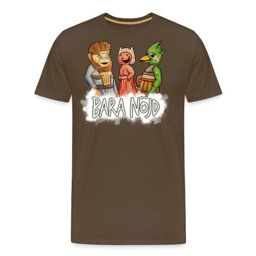 baranojd4 png - Premium-T-shirt herr