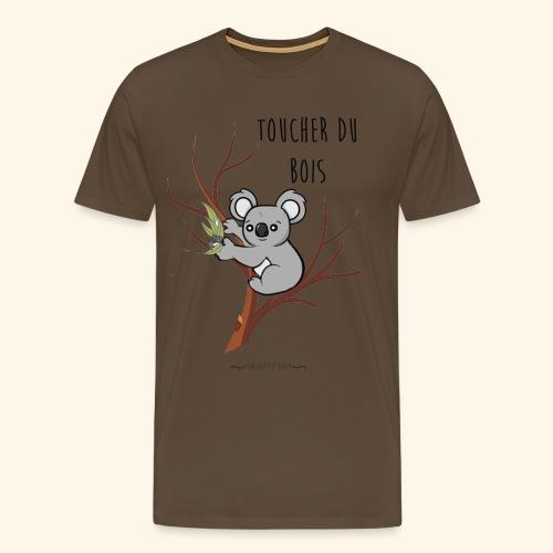 koala sur son arbre - T-shirt Premium Homme