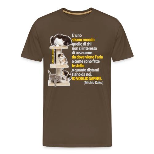 Gattini Sapere Kaku - Maglietta Premium da uomo