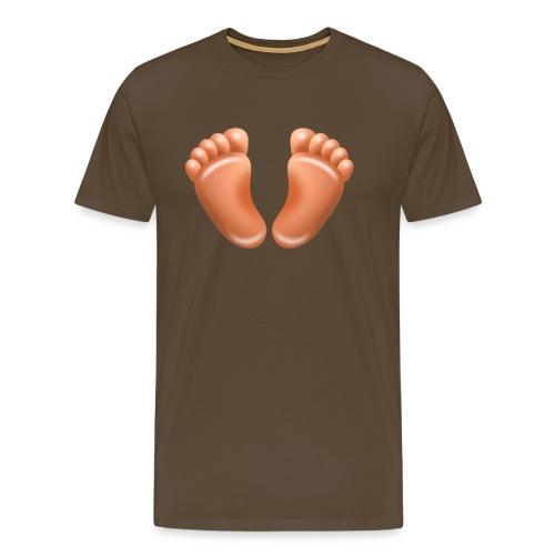 barfuss - Männer Premium T-Shirt