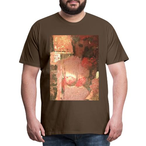 Original Art: Seductive lady - Men's Premium T-Shirt