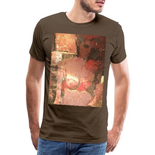 Original Art: Seductive lady - Men's Premium T-Shirt