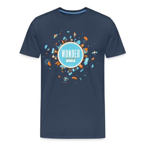 wonderworld - Männer Premium T-Shirt
