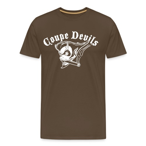 coupedevilsstandard - Premium T-skjorte for menn