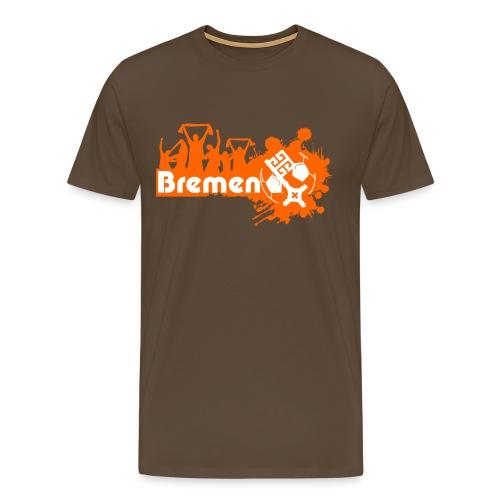 bremen fan - Männer Premium T-Shirt