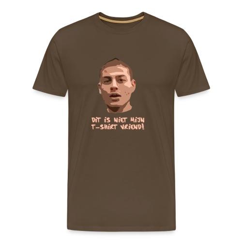 dit is niet mijn tshirt - Mannen Premium T-shirt