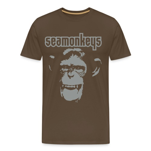 chimpanzee - Men's Premium T-Shirt