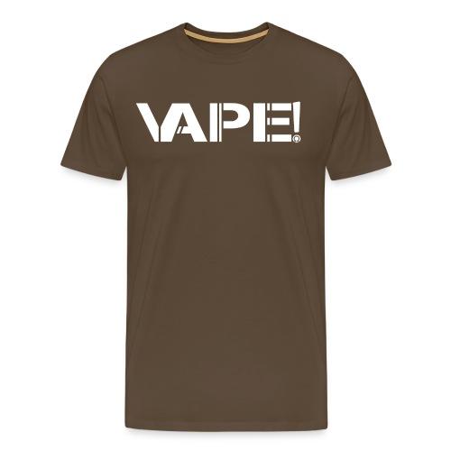 Vape! - Blanc - T-shirt Premium Homme