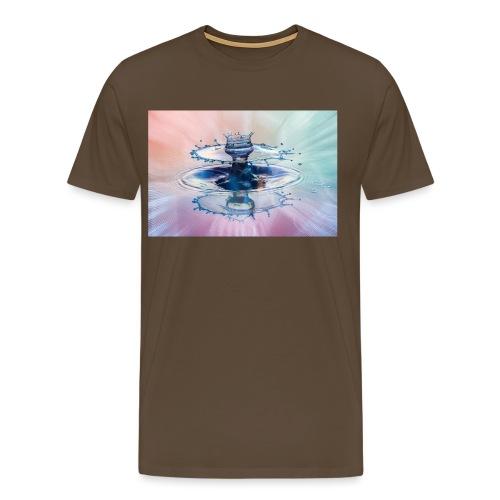 Liquid Art - Light Leak - Männer Premium T-Shirt
