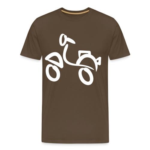 Scootershirt2 - Männer Premium T-Shirt