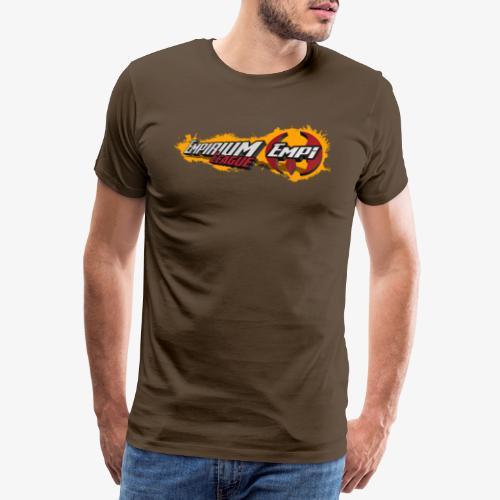 Logo EMPi fond jaune - T-shirt Premium Homme