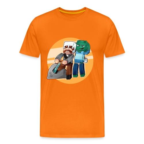 SverdisteinBG png - Premium T-skjorte for menn