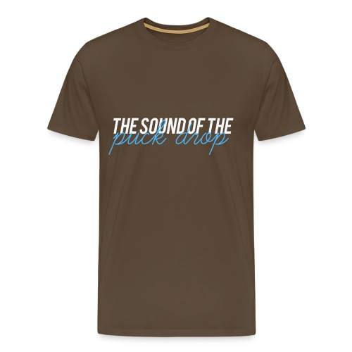 the sound of the puck png - T-shirt Premium Homme