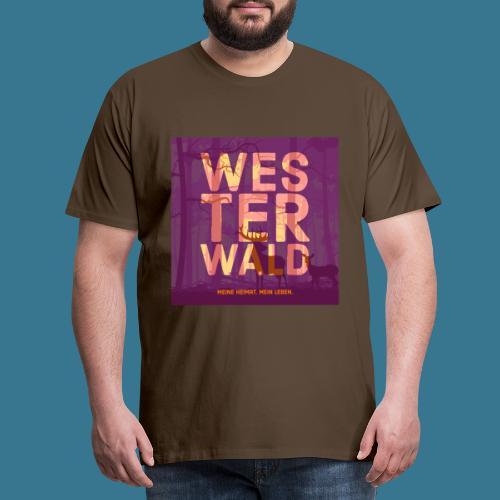 Meine Heimat. Mein Leben. - Männer Premium T-Shirt