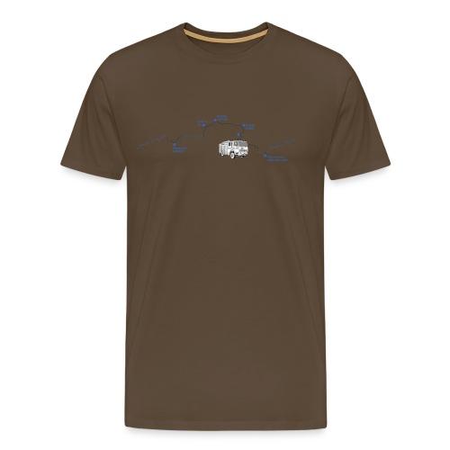 journey - Men's Premium T-Shirt