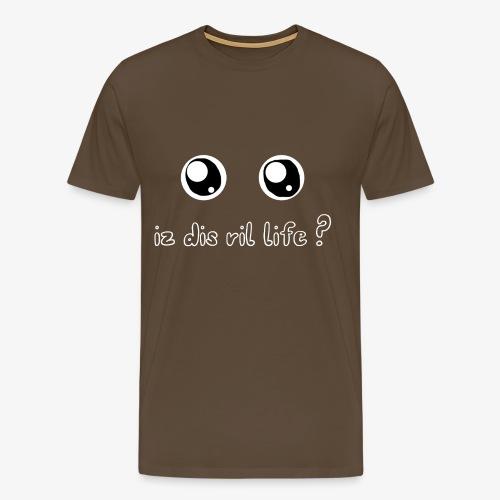 rillife png - T-shirt Premium Homme