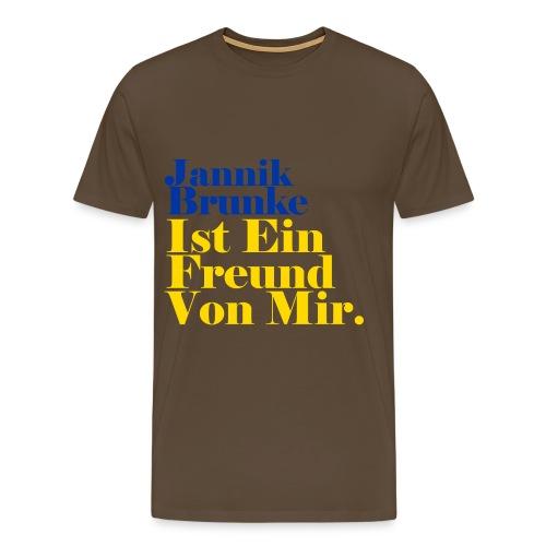 Ein Freund 01 png - Männer Premium T-Shirt
