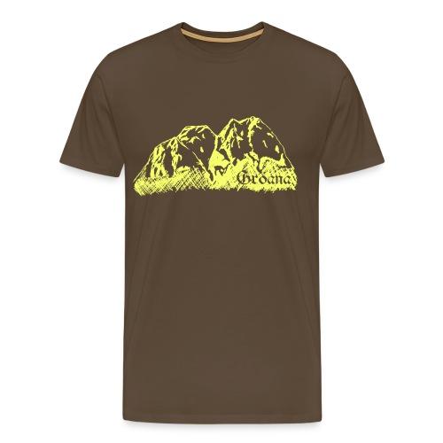 gelbb png - Männer Premium T-Shirt