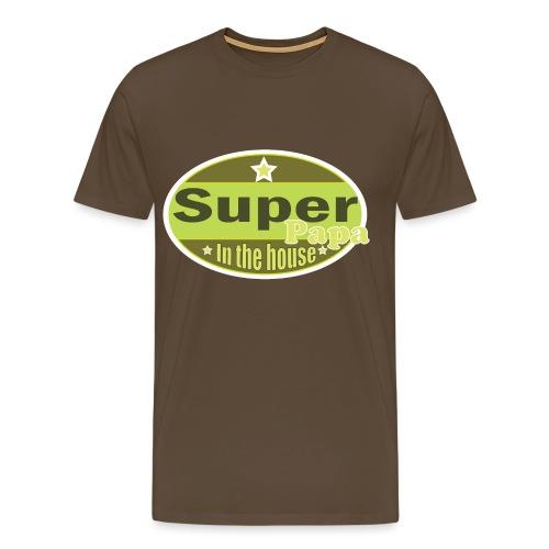 Super Papa - Mannen Premium T-shirt