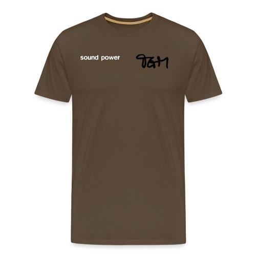 tgm sound powertee130803a - Men's Premium T-Shirt