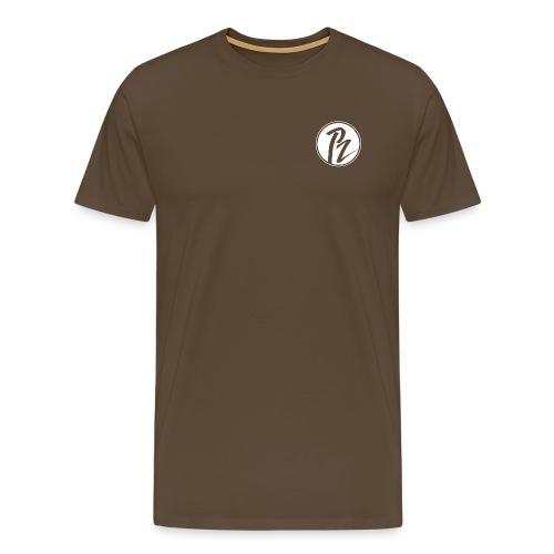 PZ and Friends Blanc - T-shirt Premium Homme
