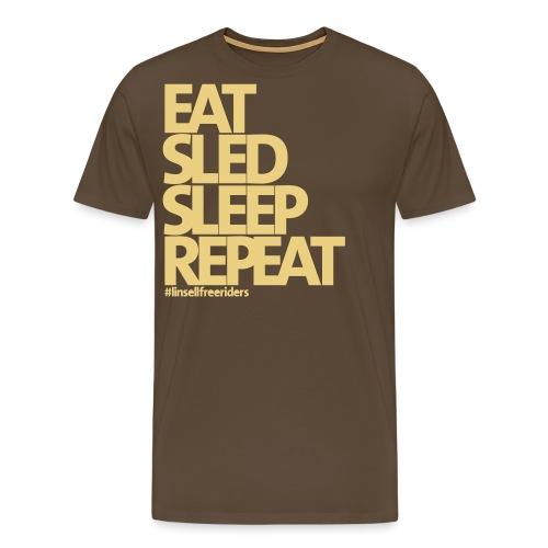 ESSR - Premium-T-shirt herr