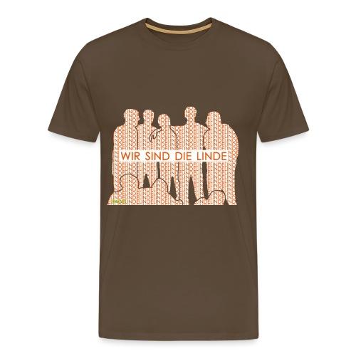Wir sind die Linde - Männer Premium T-Shirt