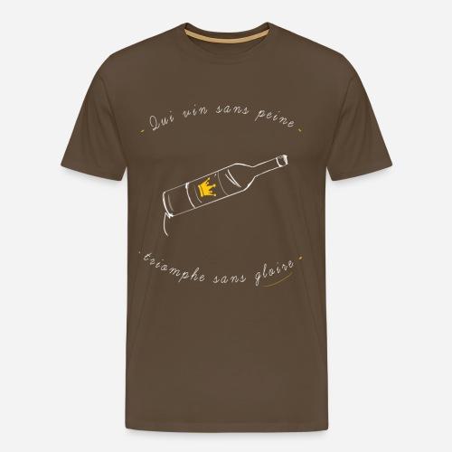 Vin png - T-shirt Premium Homme