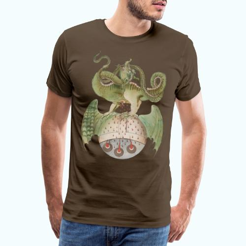 Middle Ages Dragon - Men's Premium T-Shirt