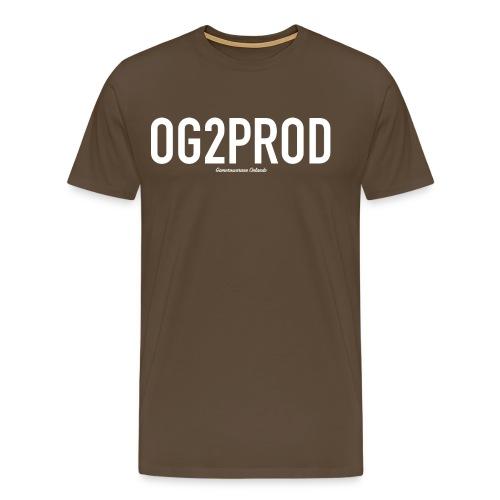 17094 2COG2PROD - Men's Premium T-Shirt