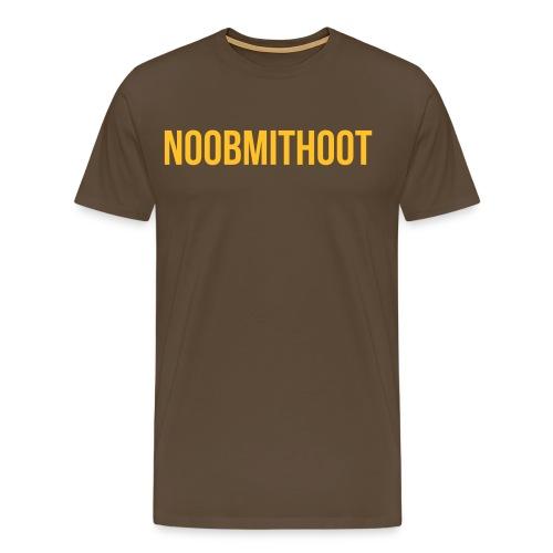 noobmithoot 1 - Männer Premium T-Shirt