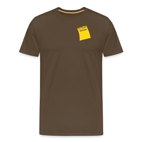 done nothing - Men's Premium T-Shirt