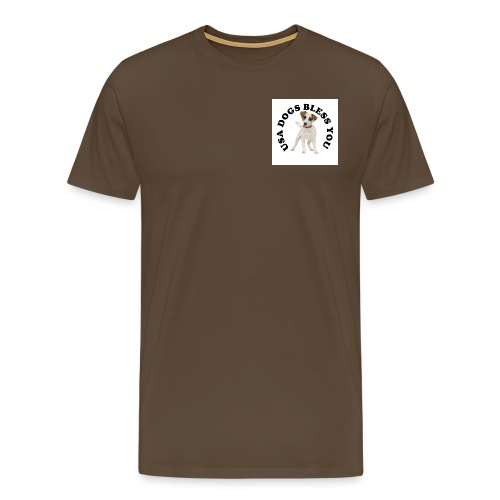 USA Dogs Bless You - Men's Premium T-Shirt