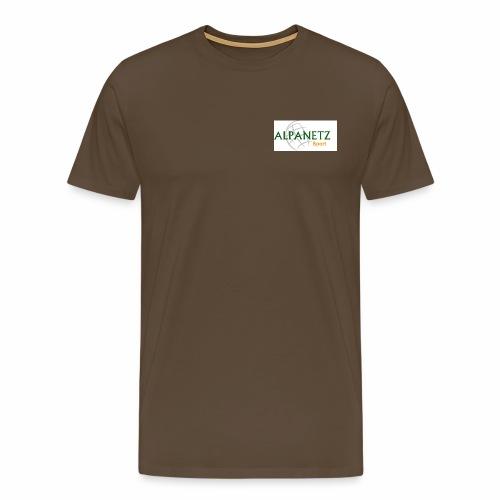 Alpanetz Logo Sport - Männer Premium T-Shirt