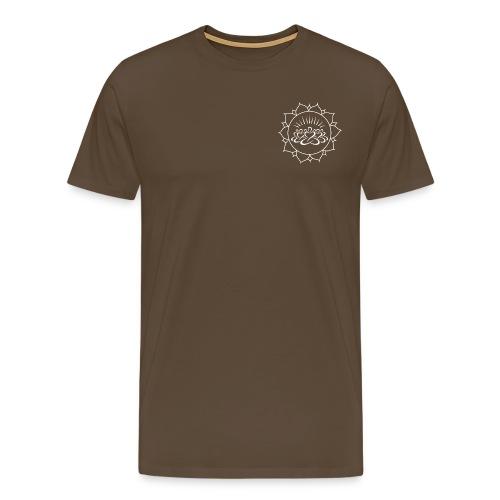 amlogo white clear large - Men's Premium T-Shirt