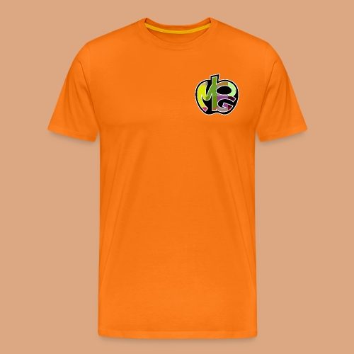 PG Mela Logo - Maglietta Premium da uomo