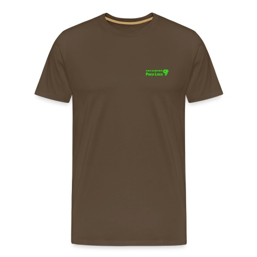 poco loco creations green - Men's Premium T-Shirt
