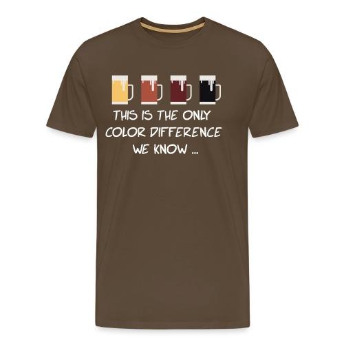 No to racism - Men's Premium T-Shirt