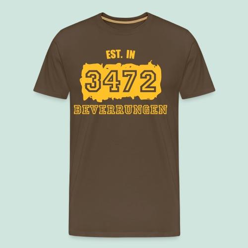 Established 3472 Beverungen - Männer Premium T-Shirt