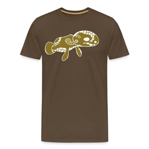 dive monster Plottmotiv - Männer Premium T-Shirt