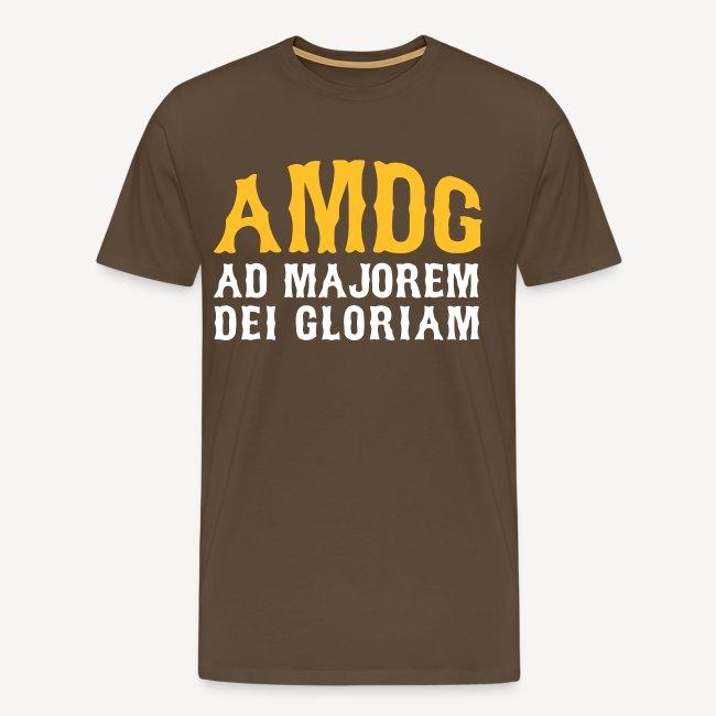 AMDG AD MAJOREM DEI GLORIAM