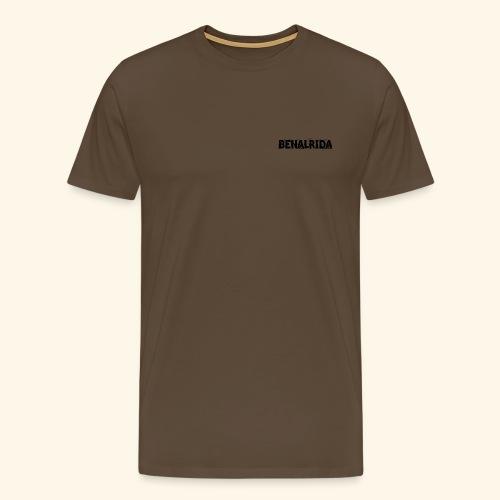 BenalRida HD black png - Camiseta premium hombre
