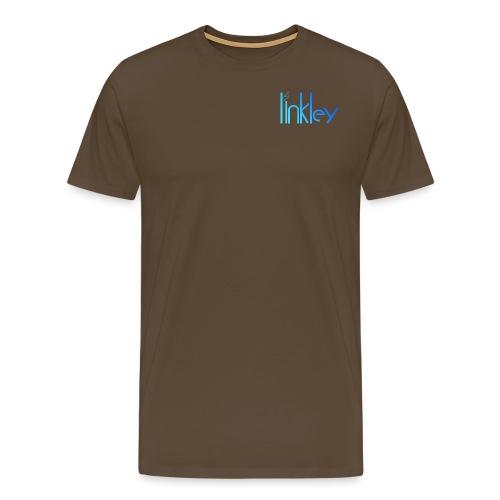 Linkley Text Blue - Men's Premium T-Shirt
