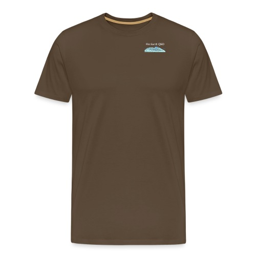 Flat Earth QED - Men's Premium T-Shirt