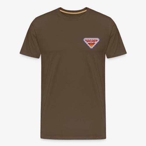 SariQasem Retro Logo TEE - Männer Premium T-Shirt