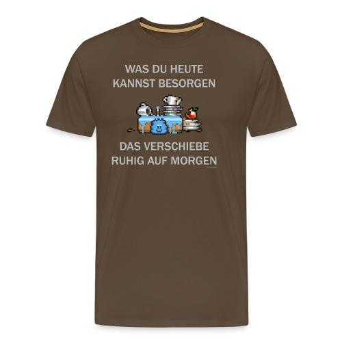 Abwasch - Männer Premium T-Shirt